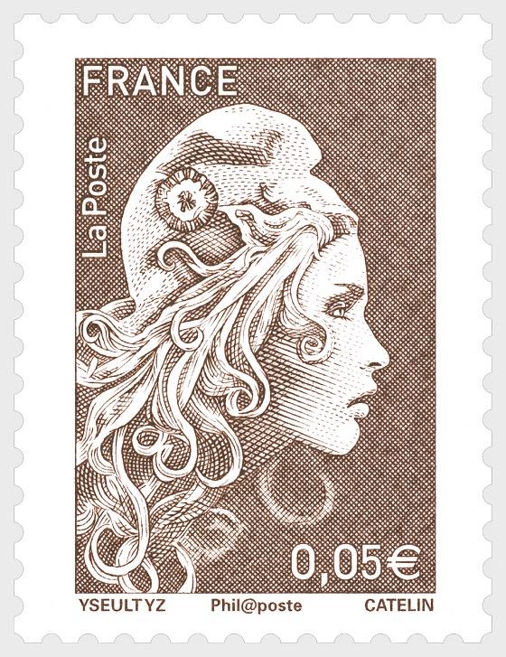 Marianne 2018 - €0.05 - Series
