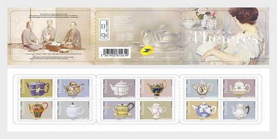Teapots - Stamp Booklet