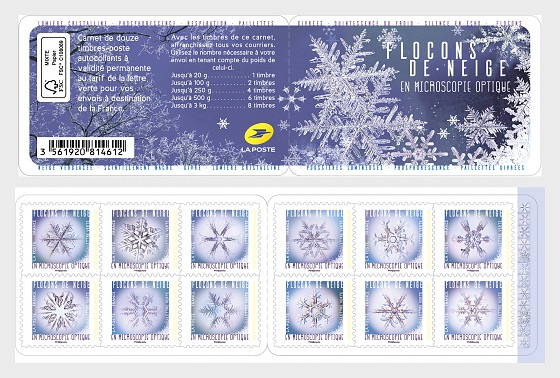 Snowflakes - Stamp Booklet