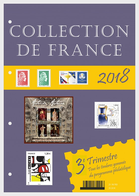 French Collection 2018 - Quarter 3 - Annual Product