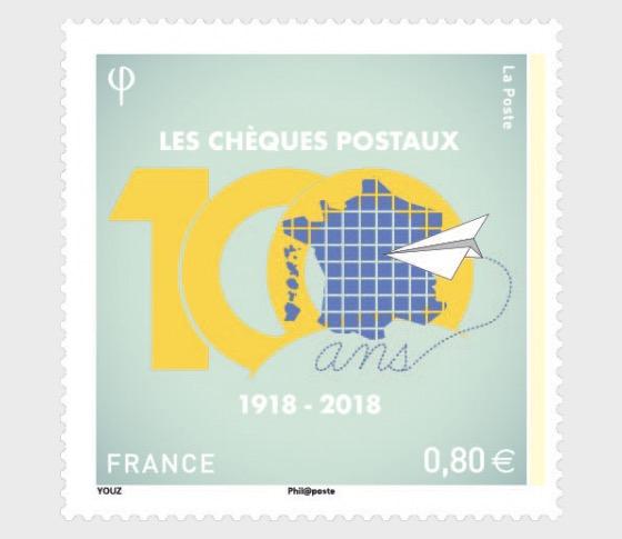 Centenary of postal cheques - Set