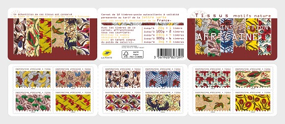 African Inspiration - Fabric - Stamp Booklet