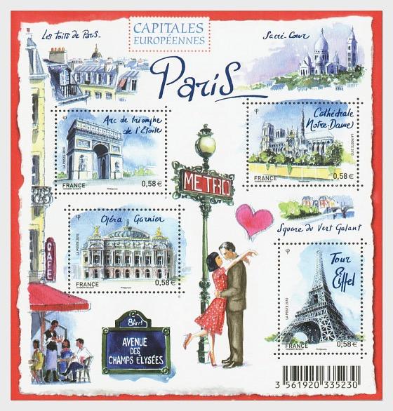 Paris - Postcard