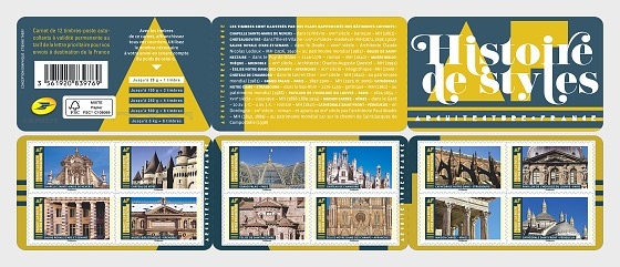 History of Styles - Architecture - Stamp Booklet