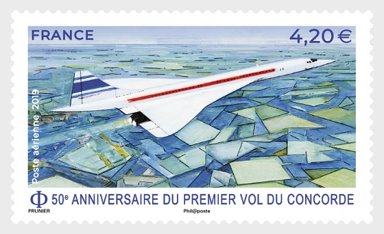 50th anniversary of the first flight of Concorde - Set