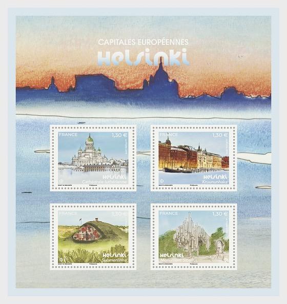 European Capitals - Helsinki - Miniature Sheet
