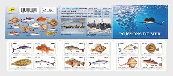 Peces de mar - Libro de Sellos