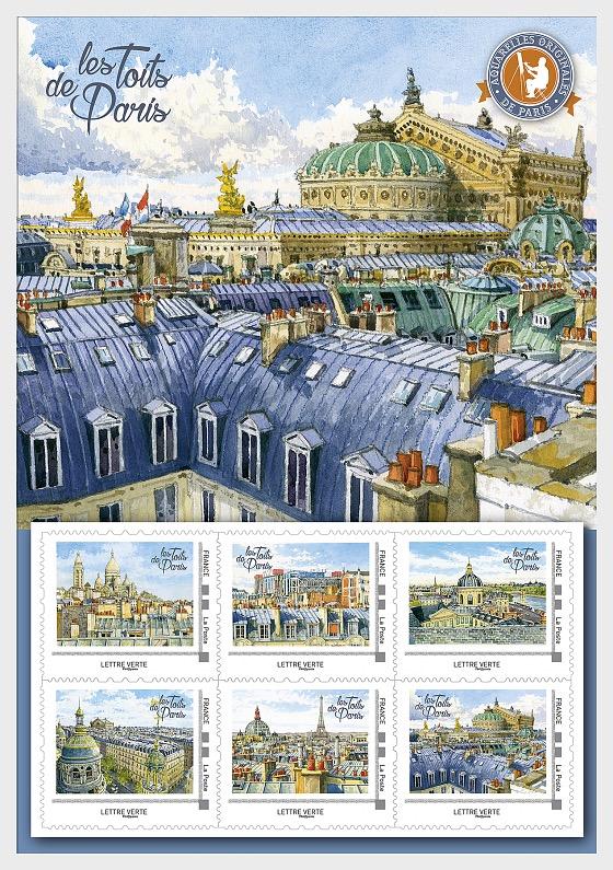 Tetti di Parigi - Collezionabile