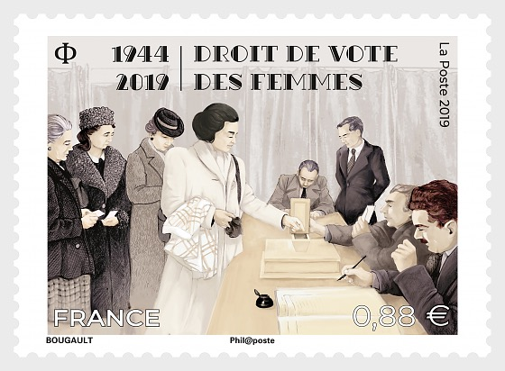 Women's right to vote - Set
