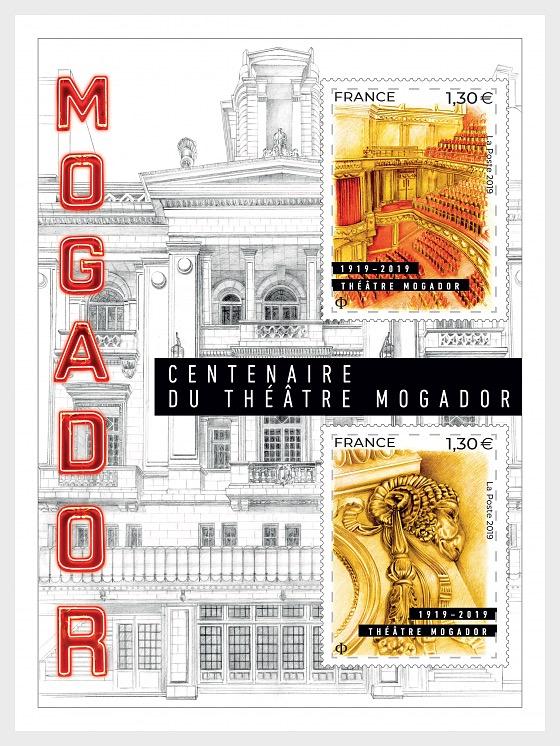 Théâtre Mogador 1925 - 2019 - Miniature Sheet