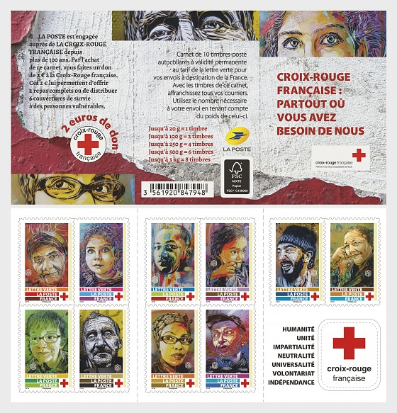 Red Cross 2019 - Stamp Booklet