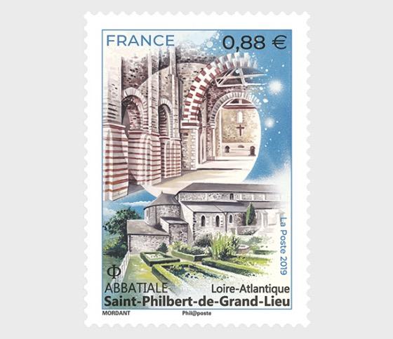 Abbey Church Saint-Philibert - Set