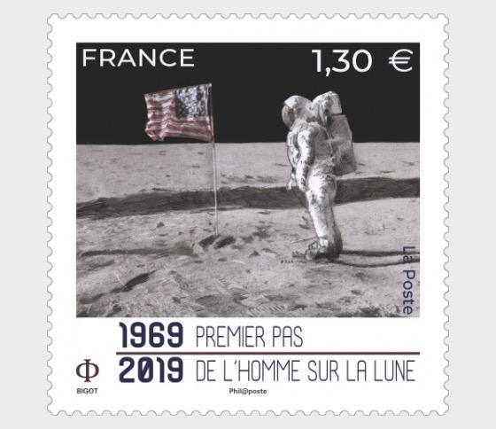 50 ° compleanno primo passo dell'uomo sulla luna - Serie