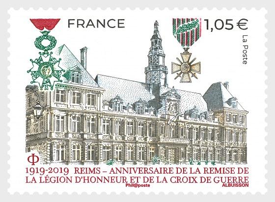 Reims, Legion d'Honneur Crois de Guerre - Series