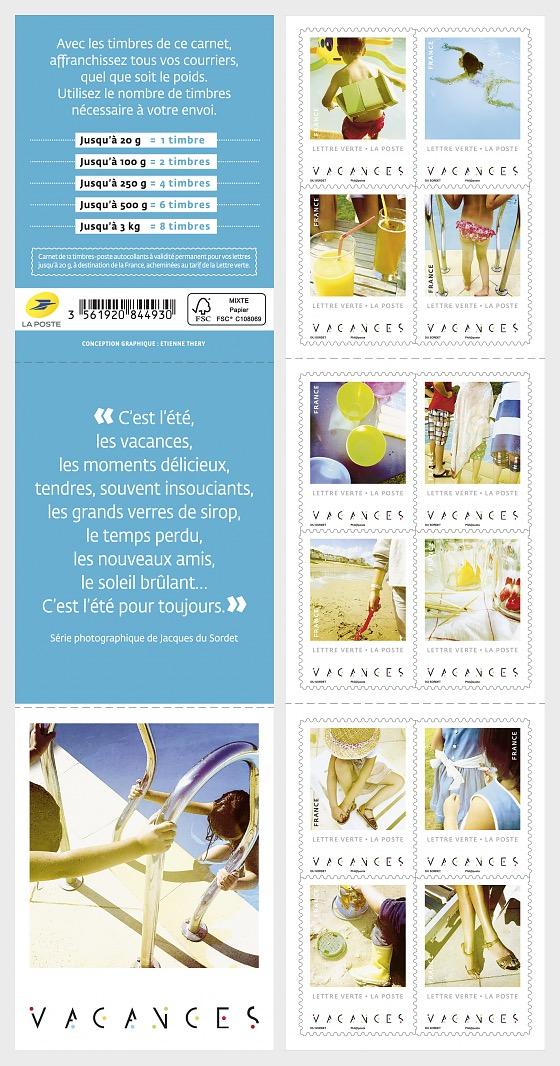 Holidays - Stamp Booklet