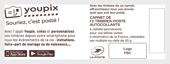 Marianne Youpix - Stamp Booklet