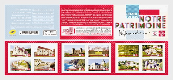 Save our Heritage - Stamp Booklet