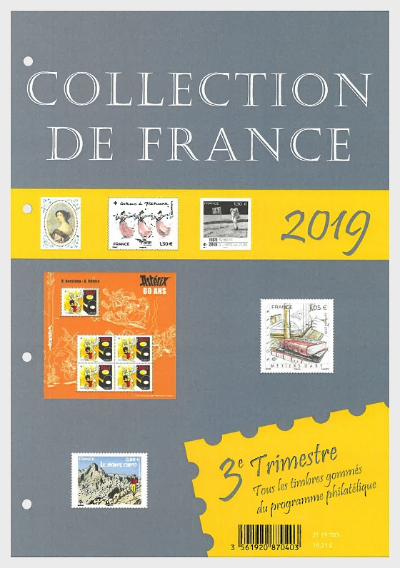 French Collection 2019 - Quarter 3 - Annual Product