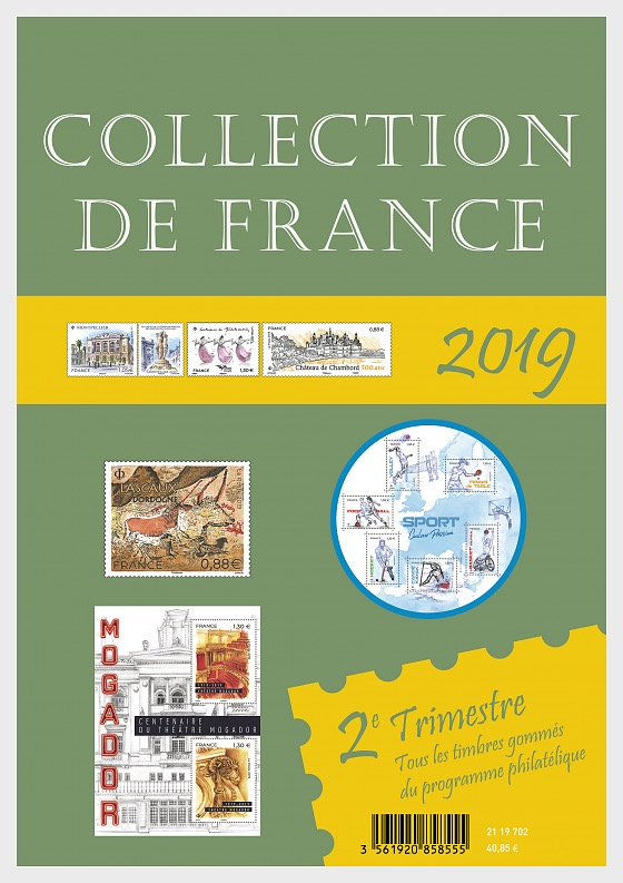 Collection France 2019 - 2 ° trimestre - Prodotti annuali