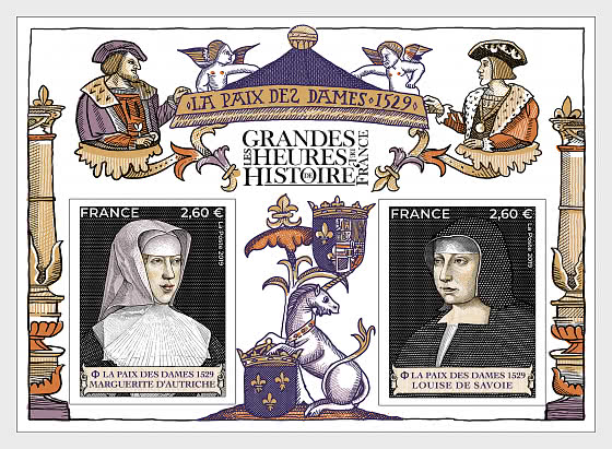 Great Moments in French History 2019 - Miniature Sheet