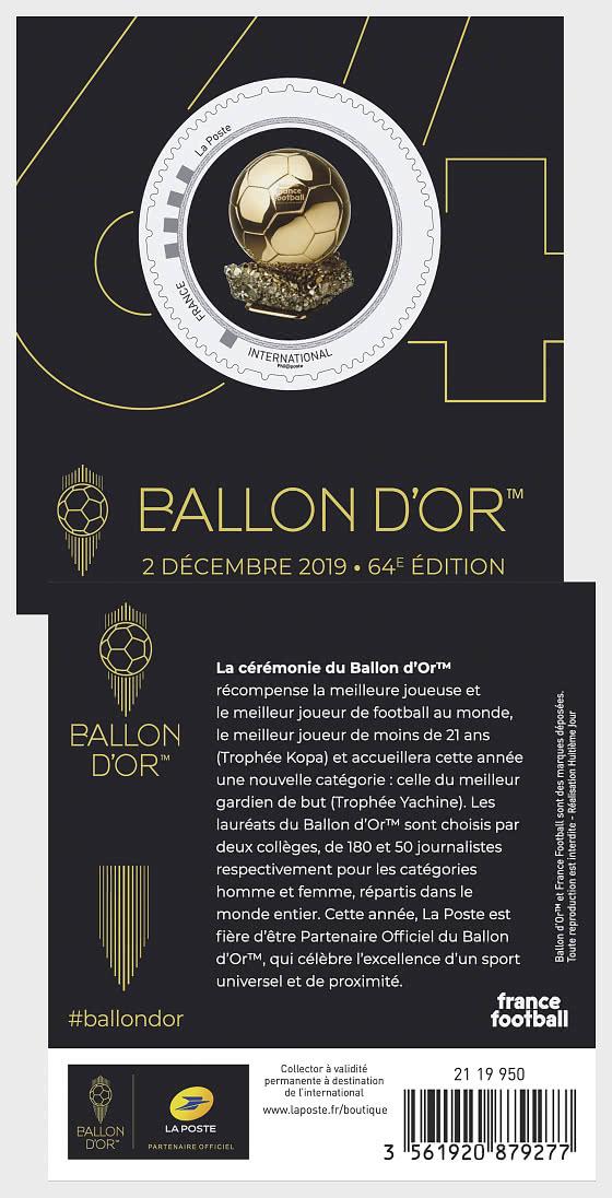Ballon d'Or - Coleccionable