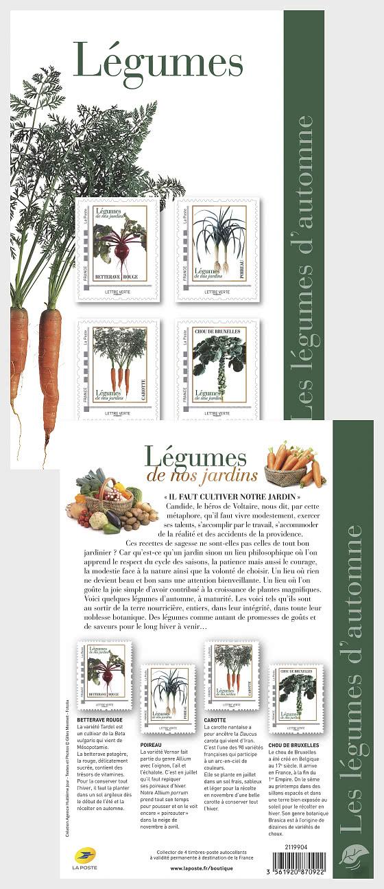 Verduras de otoño - Coleccionable