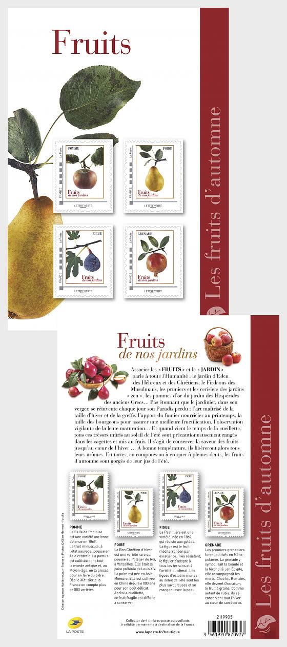 Frutas de otoño - Coleccionable