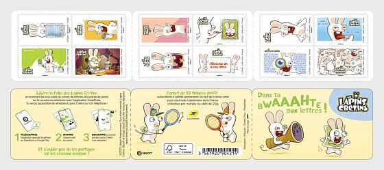 Raving Rabbids - Stamp Booklet