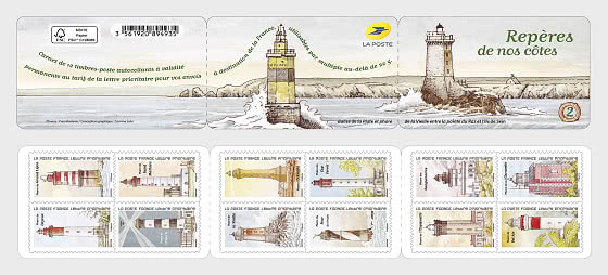 Lighthouses - Stamp Booklet