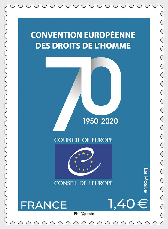 Council of Europe 2 - 70th Anniversary - Set