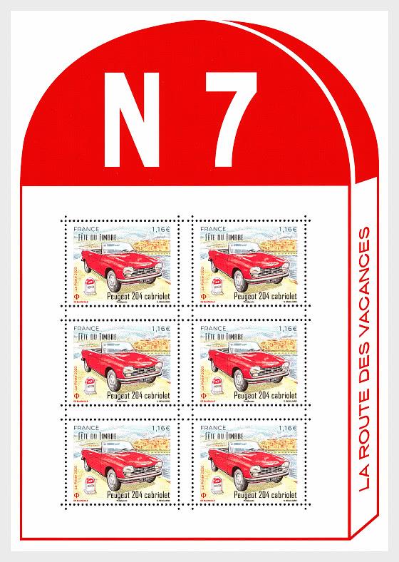 204 Cabriolet - Sheetlets