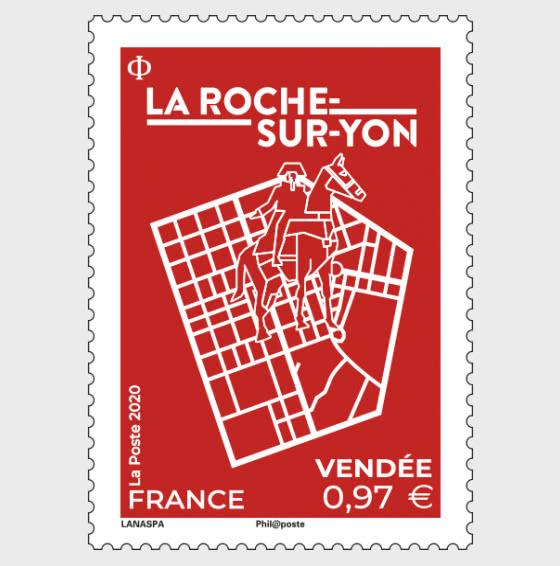La Roche Sur Yon Vendée - 套票