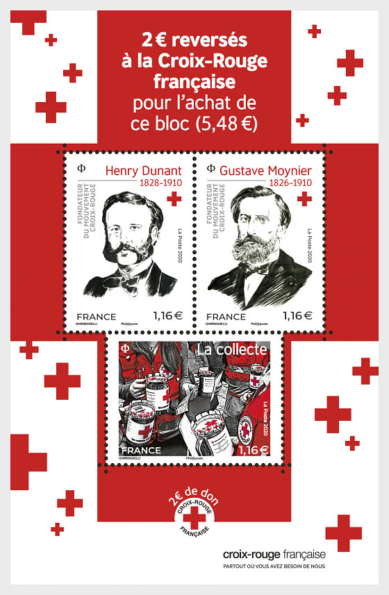 Red Cross - Miniature Sheet