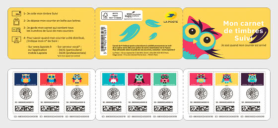 Owls Tracking - Stamp Booklet