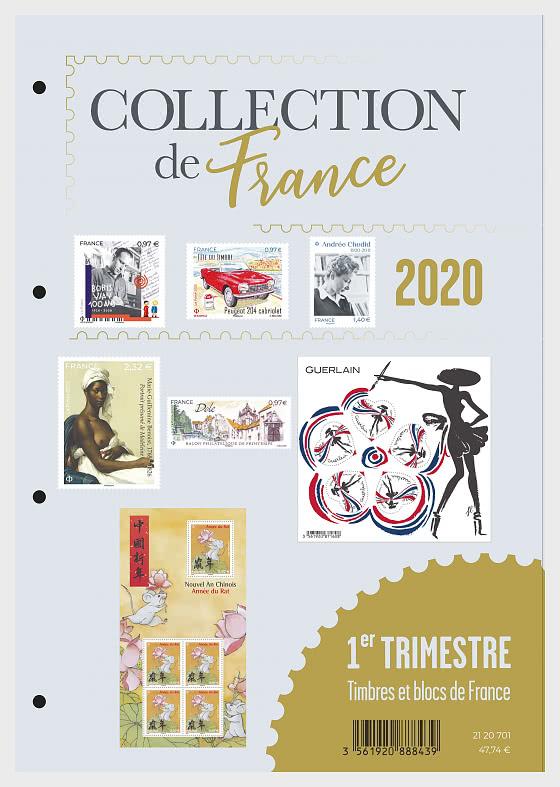 Collezione Francia 2020 - Trimestre 1 - Prodotti annuali