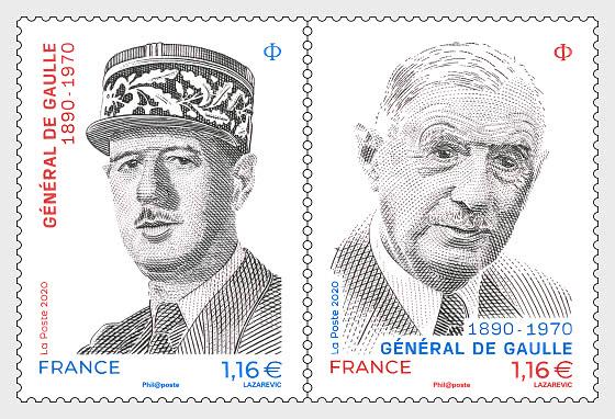 General de Gaulle 1890-1970 - Set
