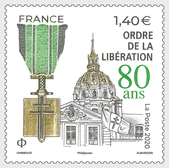 80 Years Order Of Liberation - Set