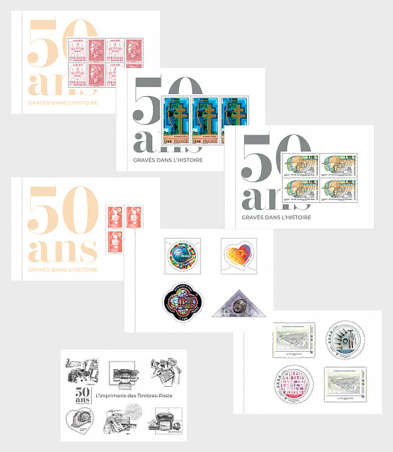 50 Years Of Printing Booklet - Collectibles