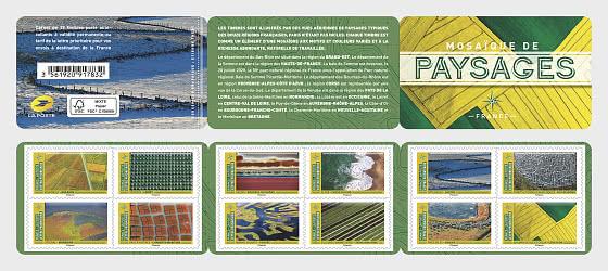 Mosaic Landscape - Stamp Booklet