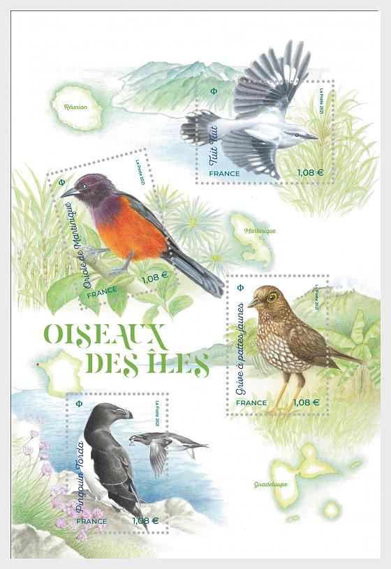 Fauna Flora - Island Birds - Miniature Sheet