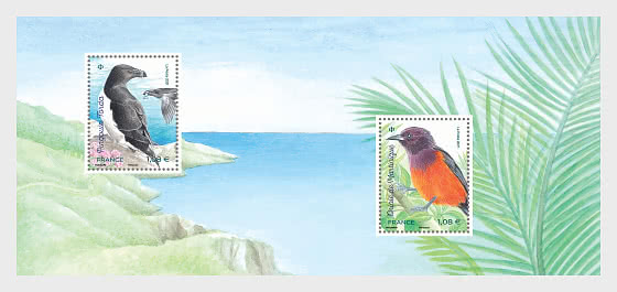 Fauna Flora - Island Birds - Philatelic Souvenir  - Collectibles