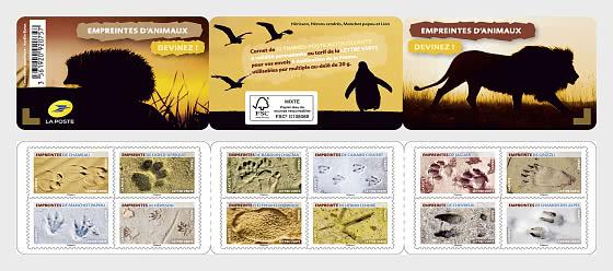 Animal Footprints - Stamp Booklet