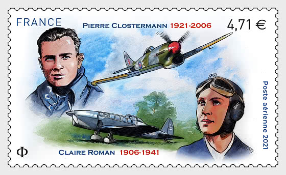 Clostermann and Roman Air Mail - Set