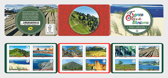 Nature Sites - Stamp Booklet