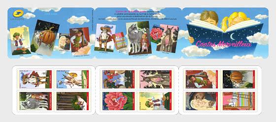 Marvelous Tales - Stamp Booklet