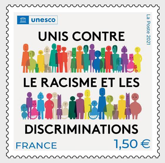 UNESCO United Against Racism - Set
