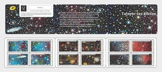 Familiar with the Stars - Stamp Booklet