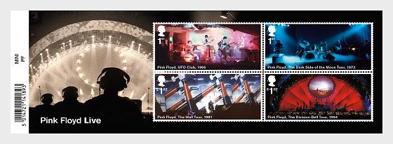 Pink Floyd - Miniature Sheet