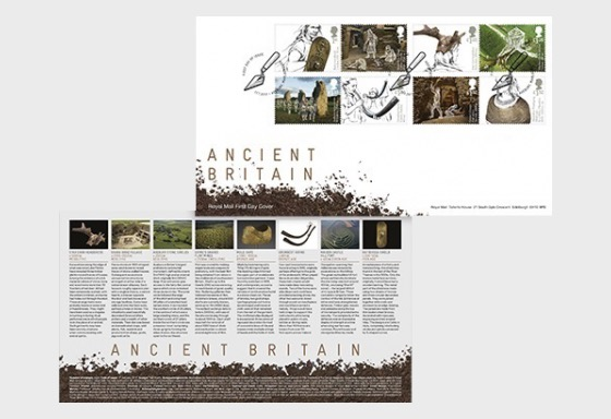 Ancient Britain - First Day Cover