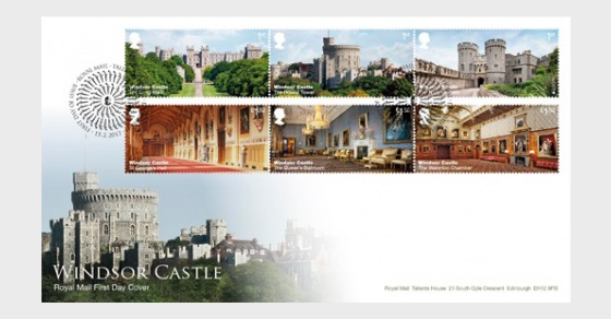 Windsor Castle 2017- (FDC Set) - First Day Cover